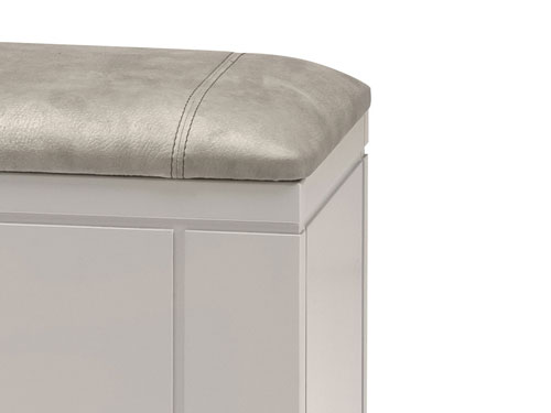 Banc-de-lit-dolce-laque-perle-blanc-detail-assise-microfibre-gris-australe