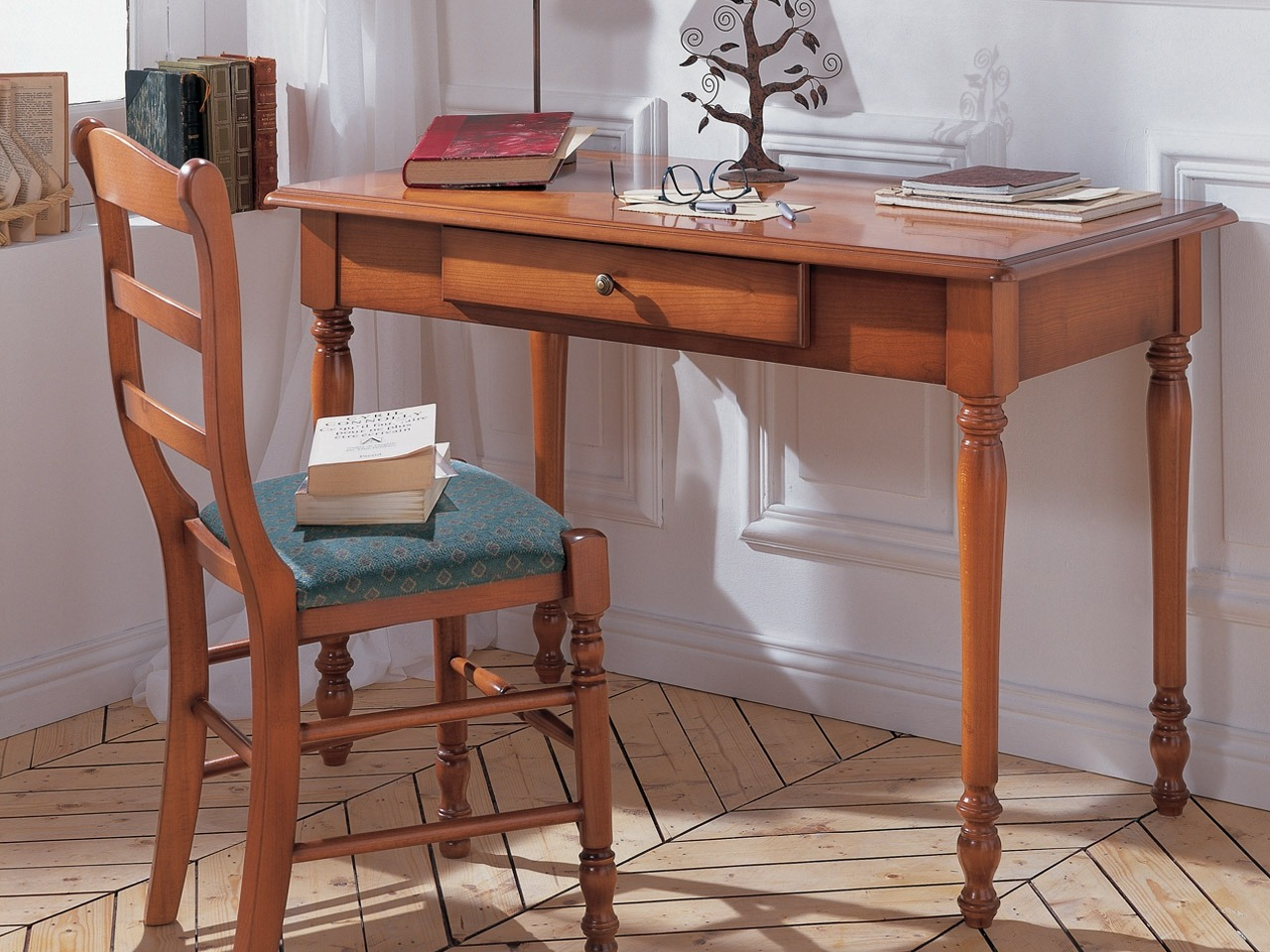Bureau tiroir louis philippe meubles minet