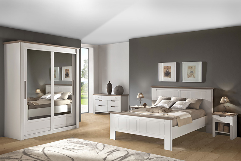 Stunning Meuble Chambre Blanc Images - House Interior ...
