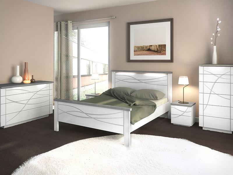Meubles blancs pour chambre à coucher - Meubles Minet