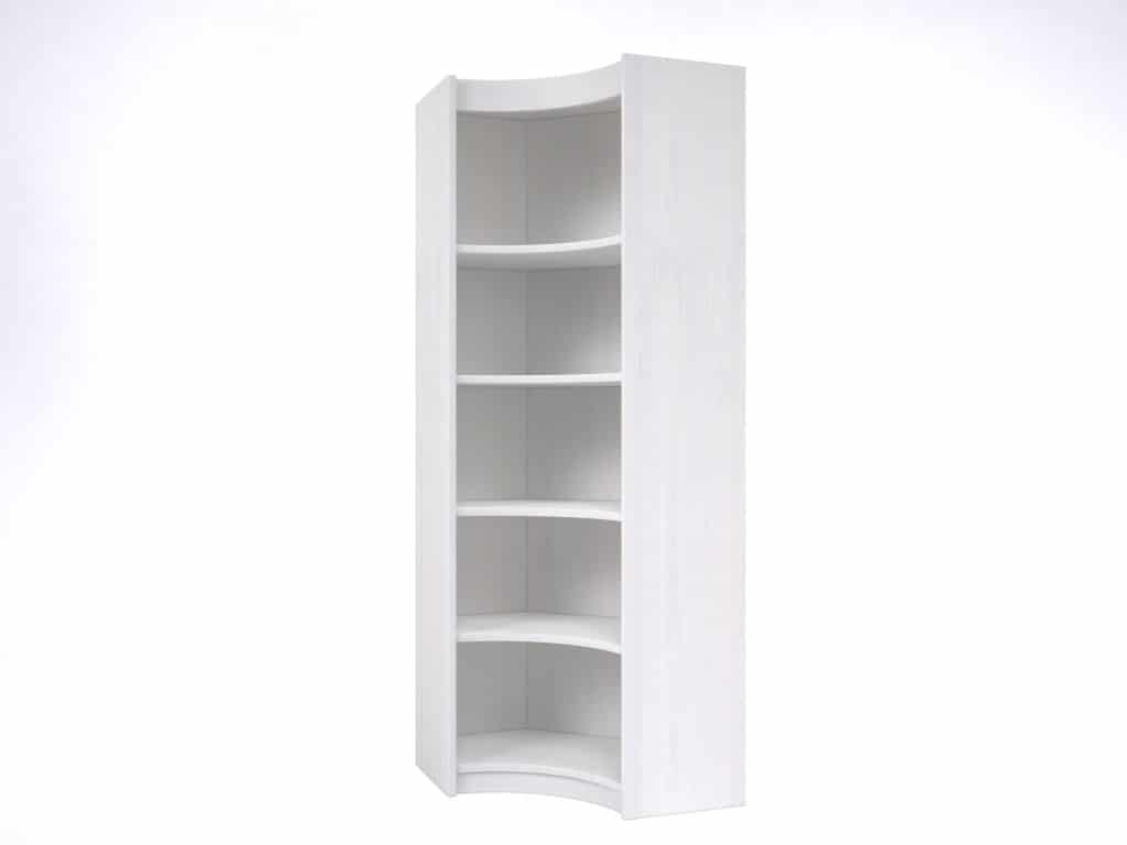 Bureau D Angle Arrondi armoire d'angle arrondi modulis volga - meubles minet