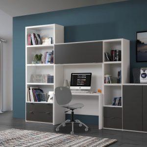 Bureau Bibliotheque Meubles Minet