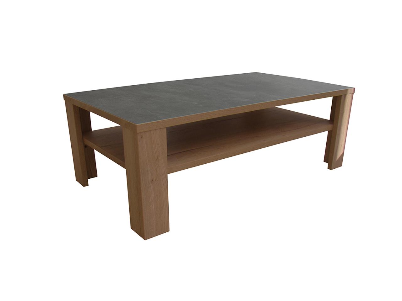 table basse himalaya pieds bois ch ne tabac ceram gris. Black Bedroom Furniture Sets. Home Design Ideas
