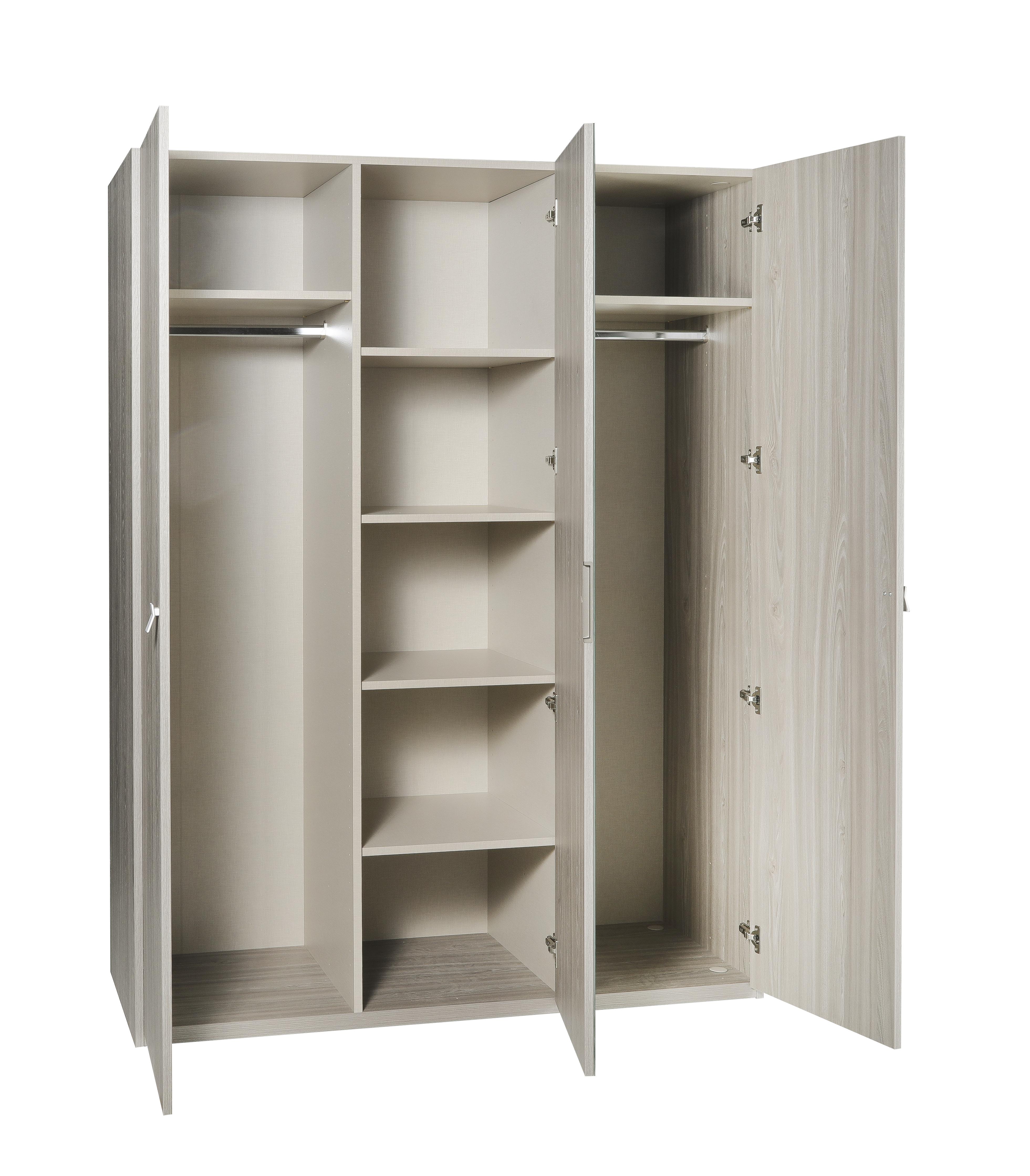 armoire 3 portes pleines battantes collection miami. Black Bedroom Furniture Sets. Home Design Ideas